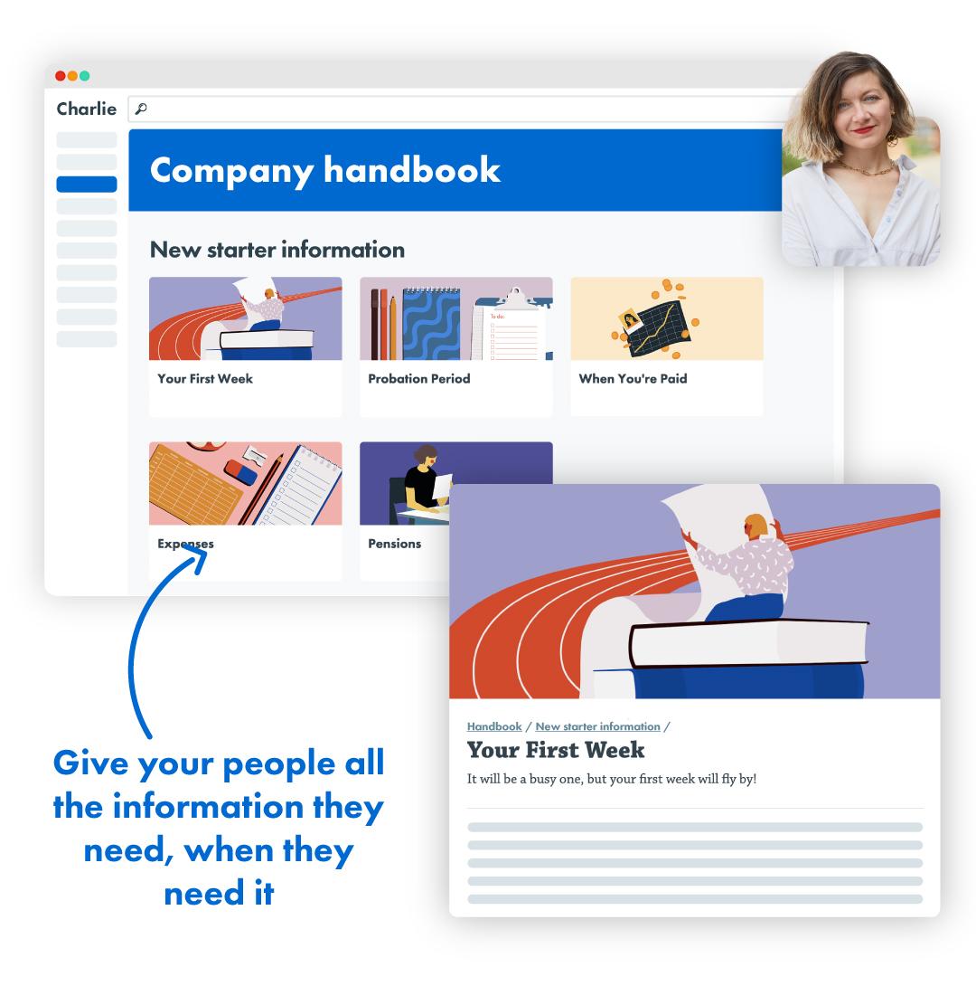 Bespoke handbook