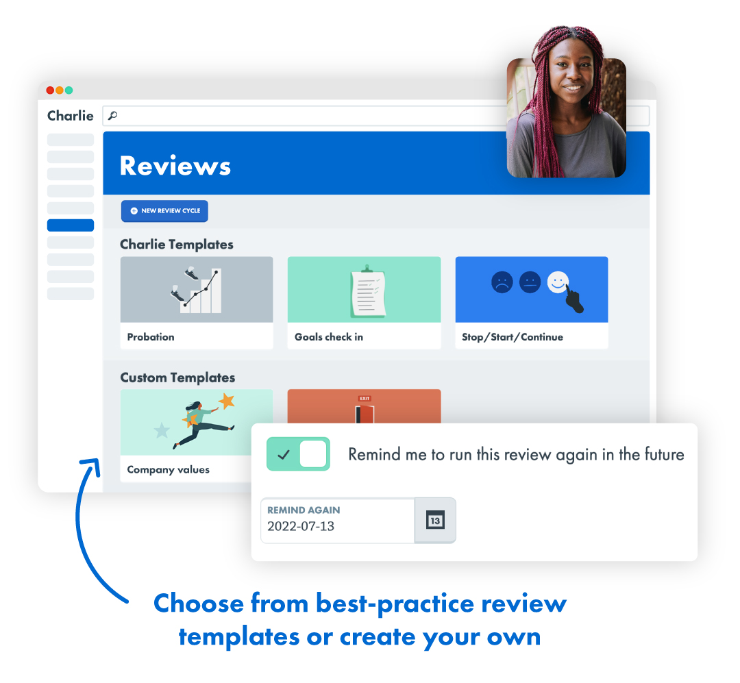 Automated reviews